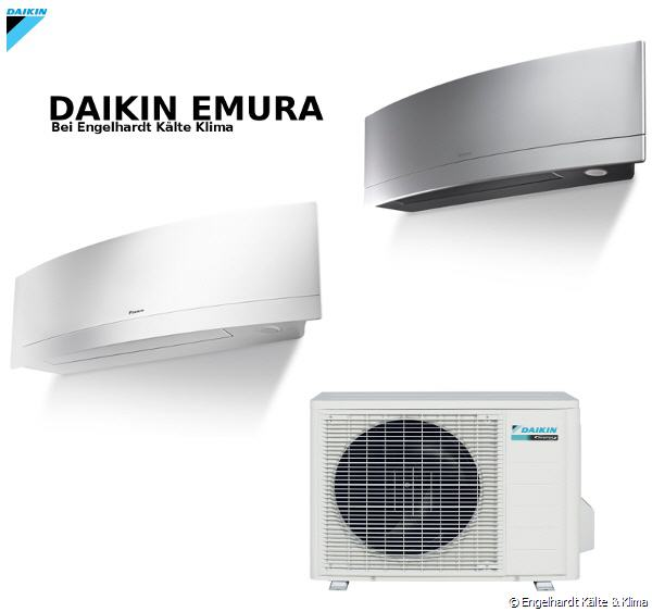 daikin emura ftxg lw ls split klimaanlage inverter wandger t ftxg25lw bis ftxg50lw von. Black Bedroom Furniture Sets. Home Design Ideas